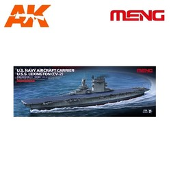 U.S. Navy Aircraft Carrier U.S.S. LEXINGTON (CV-2) - Scale 1/700 - Meng Models - MM PS-002
