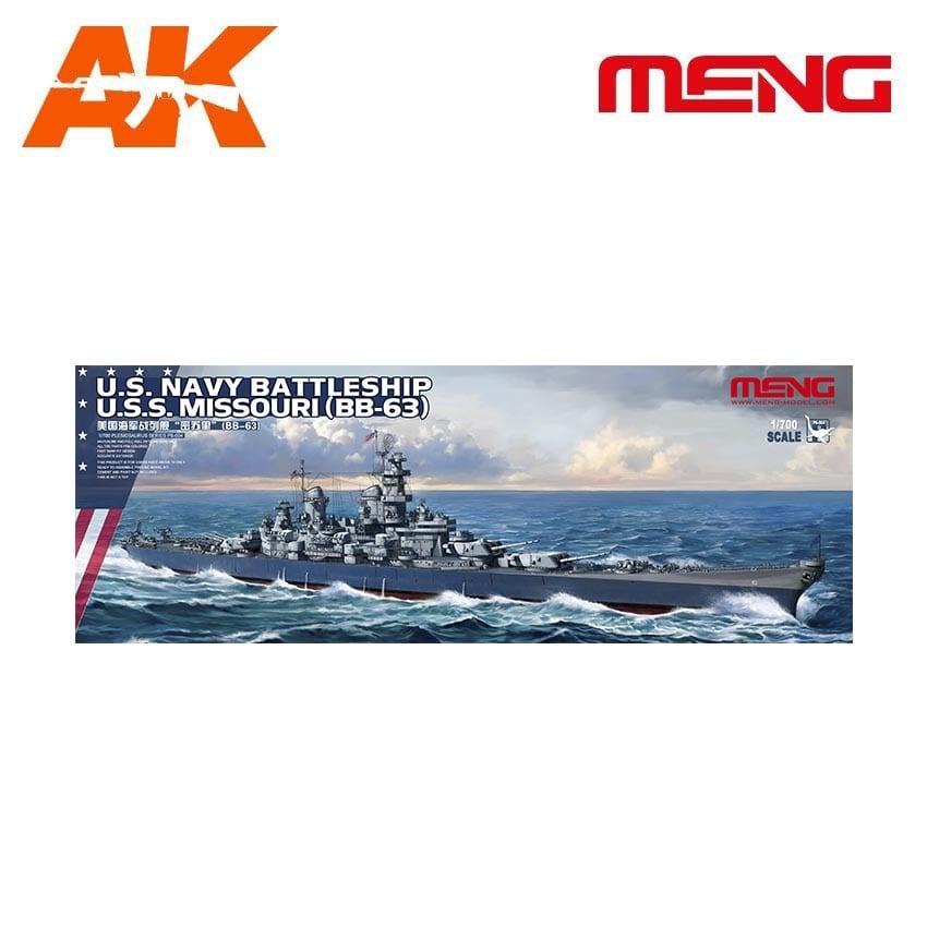 Meng Models U.S. Navy Battleship U.S.S. Missouri (BB-63) - Scale 1/700 - Meng Models - MM PS-004