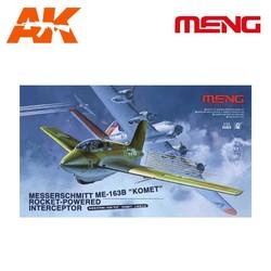 """Messerschmitt Me163B """"Komet"""" Roket-powered In - Scale 1/32 - Meng Models - MM QS-001"""