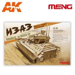 U.S. Cavalry Fighting Vehicle M3A3 Bradley w/BUSK III - Scale 1/35 - Meng Models - MM SS-006