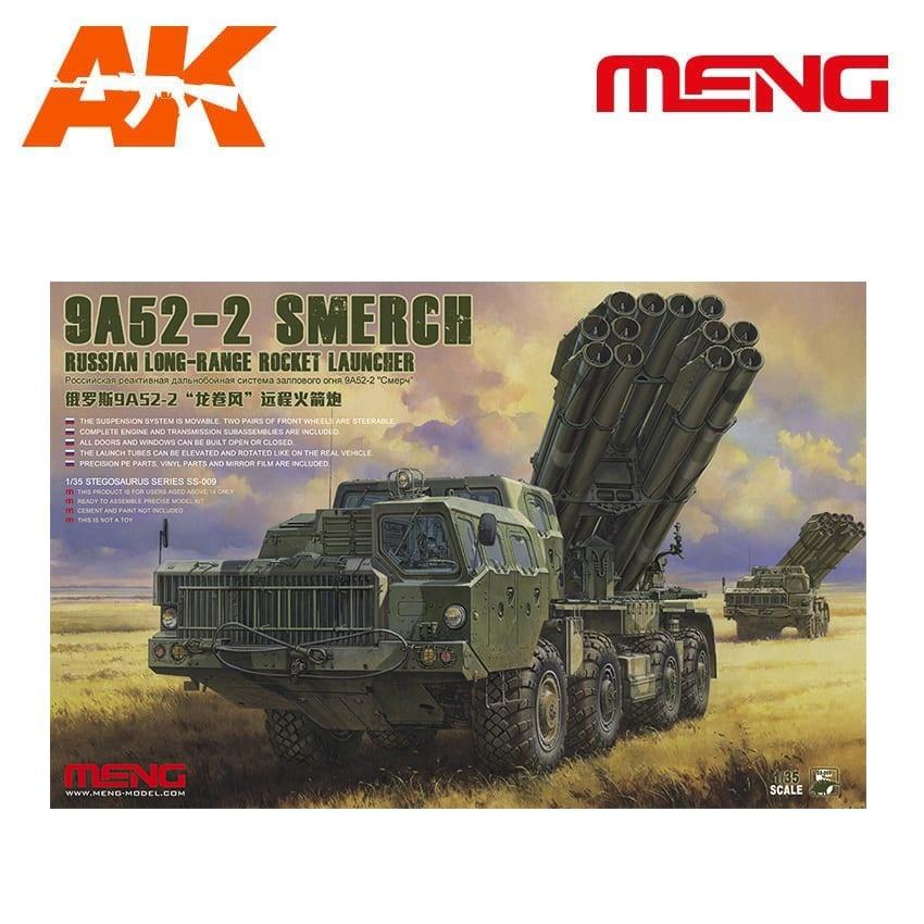 Meng Models Russian Long-Range Rocket Launcher 9A52-2 - Scale 1/35 - Meng Models - MM SS-009