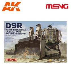 D9R Armored Bulldozer W/Slat Armor - Scale 1/35 - Meng Models - MM SS-010