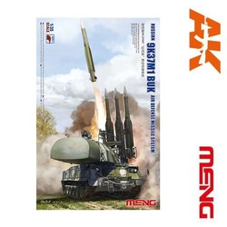 Russian 9K37M1 Buk Air Defense Missile System - Scale 1/35 - Meng Models - MM SS-014