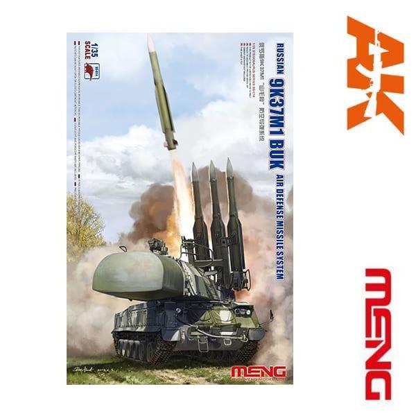 Meng Models Russian 9K37M1 Buk Air Defense Missile System - Scale 1/35 - Meng Models - MM SS-014