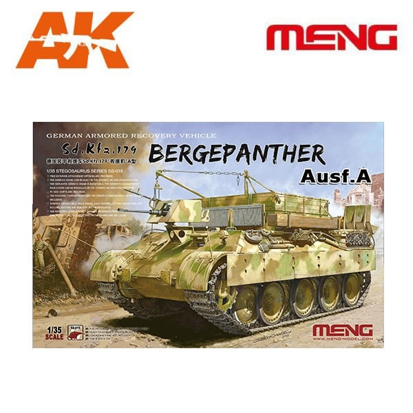 Meng Models German Armored Recovery Vehicle Sd.Kfz.179 - Scale 1/35 - Meng Models - MM SS-015