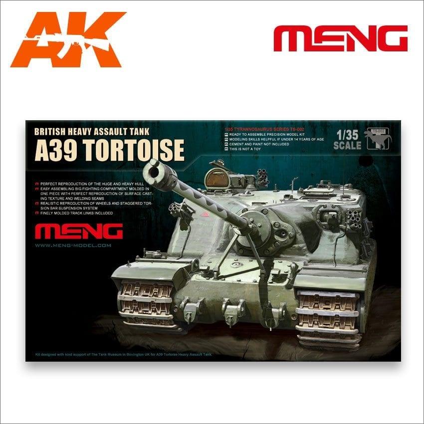 Meng Models British A39 Tortoise Heavy Assault Tank - Scale 1/35 - Meng Models - MM TS-002