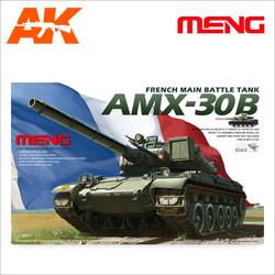 French MBT AMX30B - Scale 1/35 - Meng Models - MM TS-003