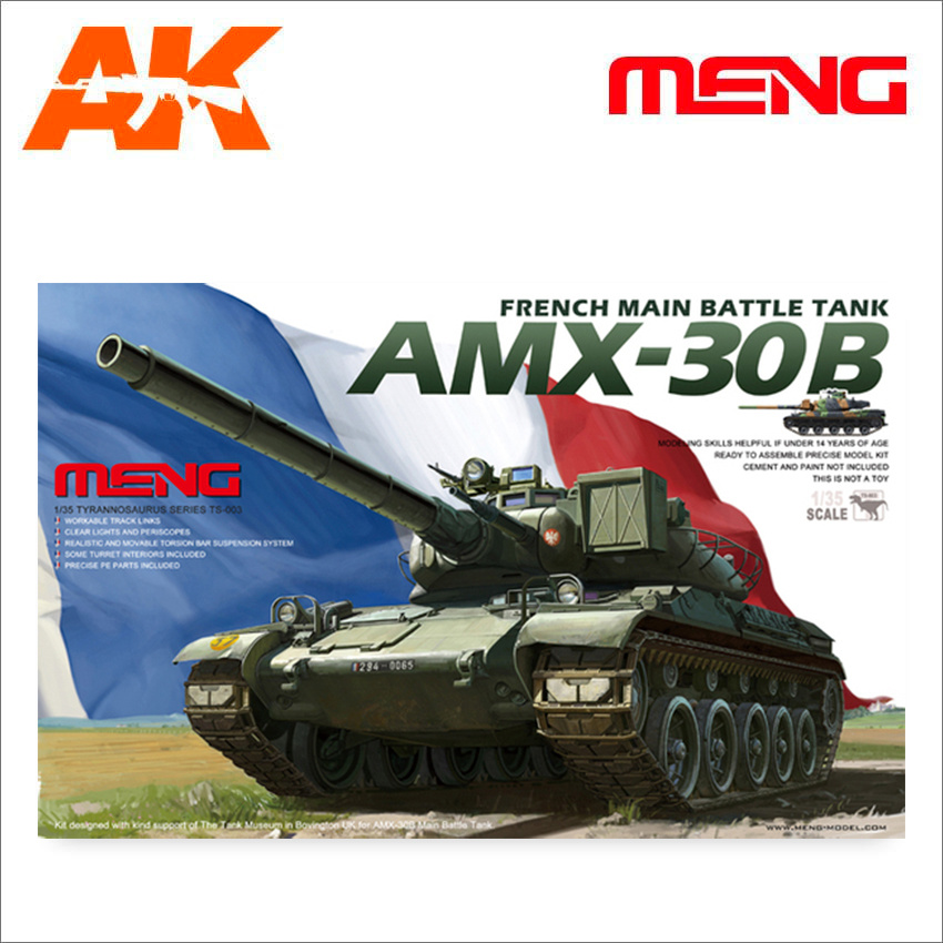 Meng Models French MBT AMX30B - Scale 1/35 - Meng Models - MM TS-003