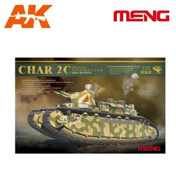 French super heavy tank Char 2C - Scale 1/35 - Meng Models - MM TS-009