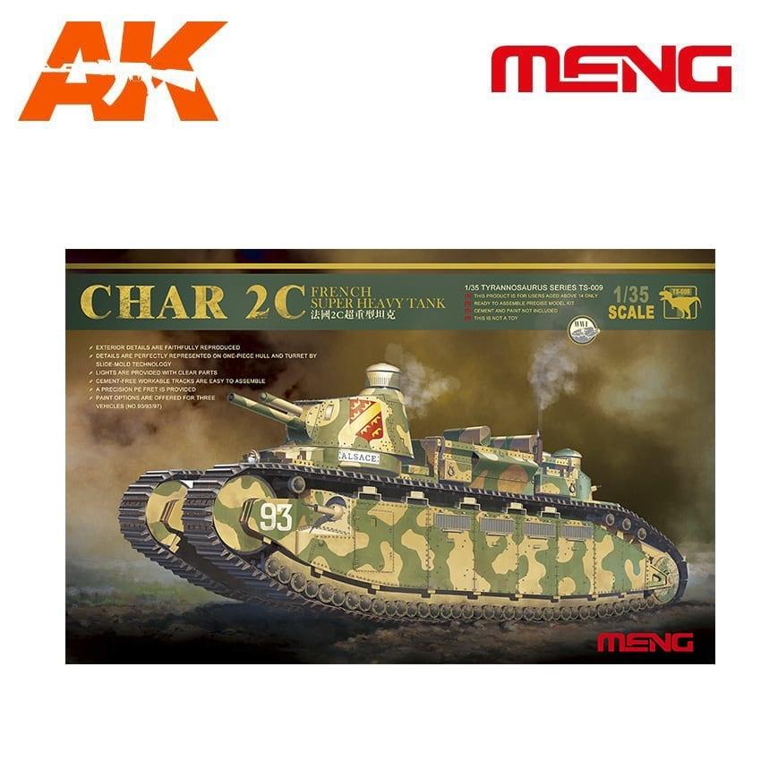 Meng Models French super heavy tank Char 2C - Scale 1/35 - Meng Models - MM TS-009