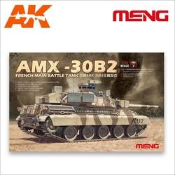 French Main Battle Tank AMX-30B2 - Scale 1/35 - Meng Models - MM TS-013