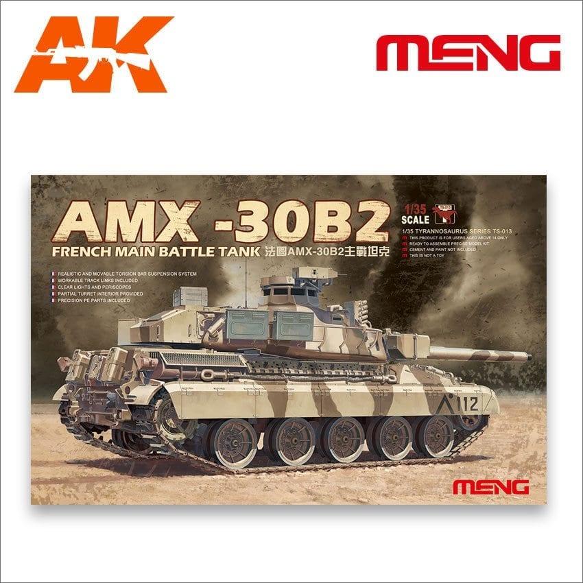 Meng Models French Main Battle Tank AMX-30B2 - Scale 1/35 - Meng Models - MM TS-013