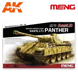 German Medium Tank Sd.Kfz.171 Panther Ausf.D - Scale 1/35 - Meng Models - MM TS-038