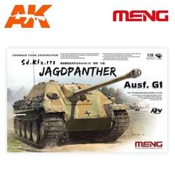 German Tank Destroyer Sd.Kfz.173 Jagdpanther G1 - Scale 1/35 - Meng Models - MM TS-039