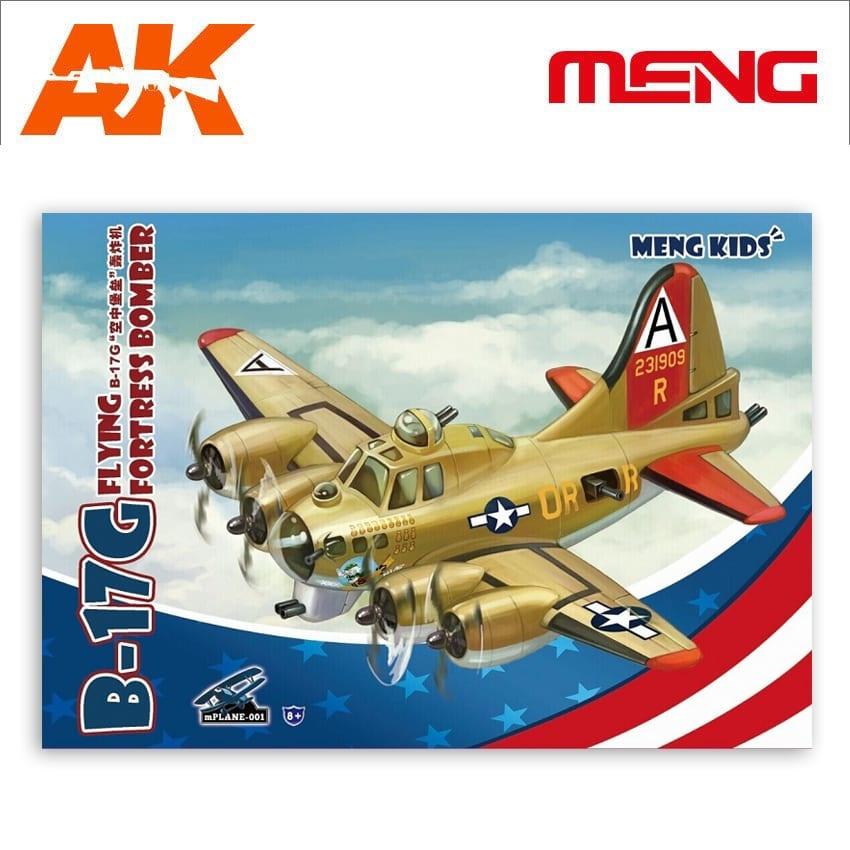 Meng Models B-17G Flying Fortress Bomber - Cartoon Model - Meng Models - MM Mplane-001