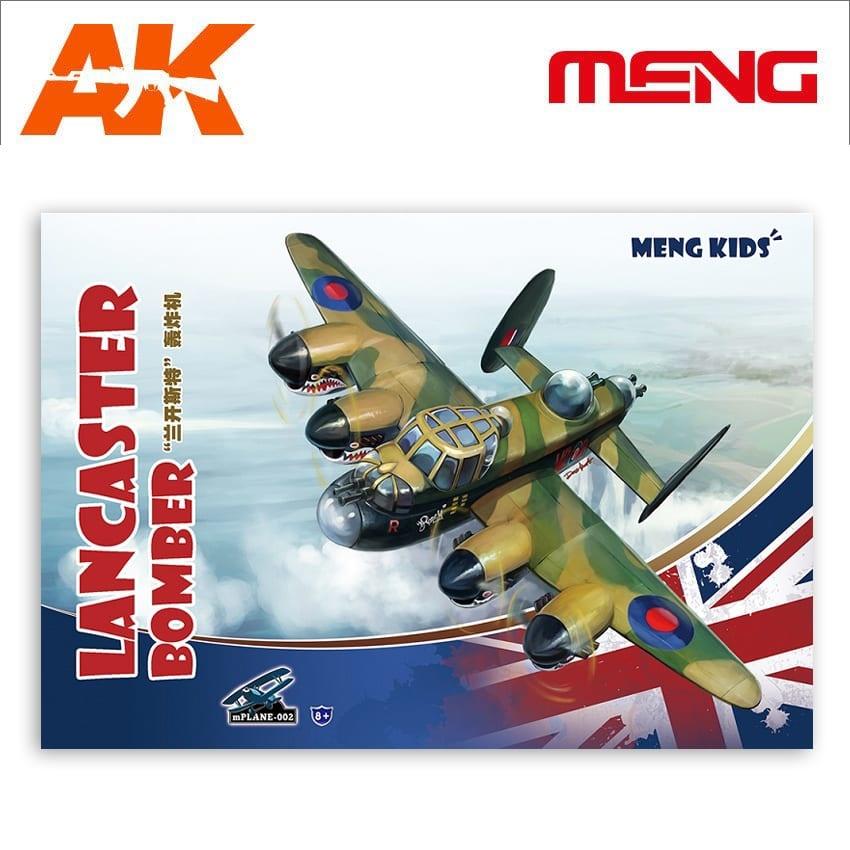 Meng Models Lancaster Bomber, Meng Kids - Cartoon Model - Meng Models - MM Mplane-002