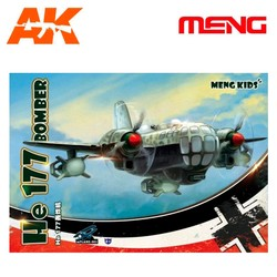 He 177 Bomber - Cartoon Model - Meng Models - MM Mplane-003