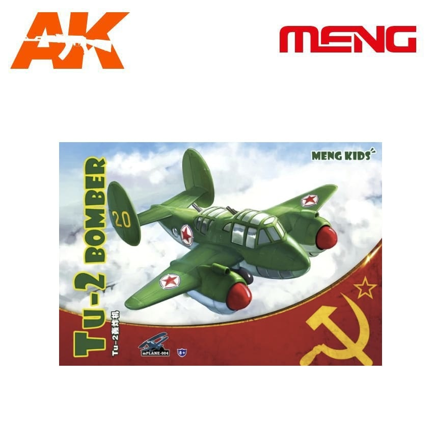 Meng Models Tu-2 Bomber - Cartoon Model - Meng Models - MM Mplane-004
