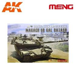 Israel Main Battle Tank Magach 6B GAL BATASH - Scale 1/35 - Meng Models - MM TS-040