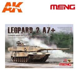 German Main Battle Tank Leopard 2A7+ - Scale 1/35 - Meng Models - MM TS-042