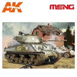 U.S. Medium Tank M4A3 (76) W - Scale 1/35 - Meng Models - MM TS-043