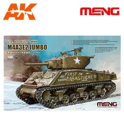 U.S. Assault Tank M4A3E2 Jumbo - Scale 1/35 - Meng Models - MM TS-045