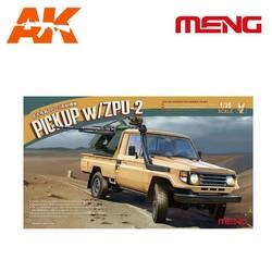 Pickup W/Zpu-2 - Scale 1/35 - Meng Models - MM VS-005