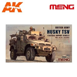 British Army Husky TSV (Tactical Support Vehicle) - Scale 1/35 - Meng Models - MM VS-009