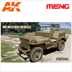 MB Military Vehicle - Scale 1/35 - Meng Models - MM VS-011