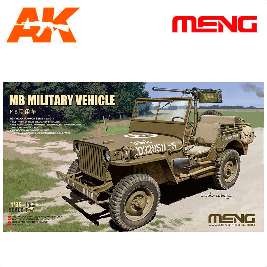 Meng Models MB Military Vehicle - Scale 1/35 - Meng Models - MM VS-011