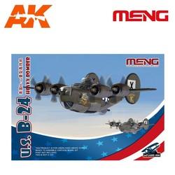 U.S. B-24 Heavy Bomber - Cartoon Model - Meng Models - MM Mplane-006