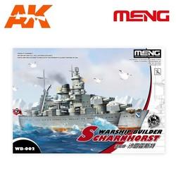 Warship Builder – Scharnhorst - Cartoon Model - Meng Models - MM Wb-002