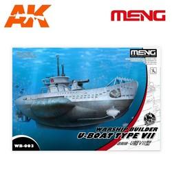 Warship Builder – U-Boat Type VII - Cartoon Model - Meng Models - Mm Wb-003