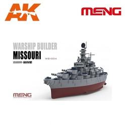 Warship Builder Missouri - Scale Cartoon - Meng Models - MM WB-004