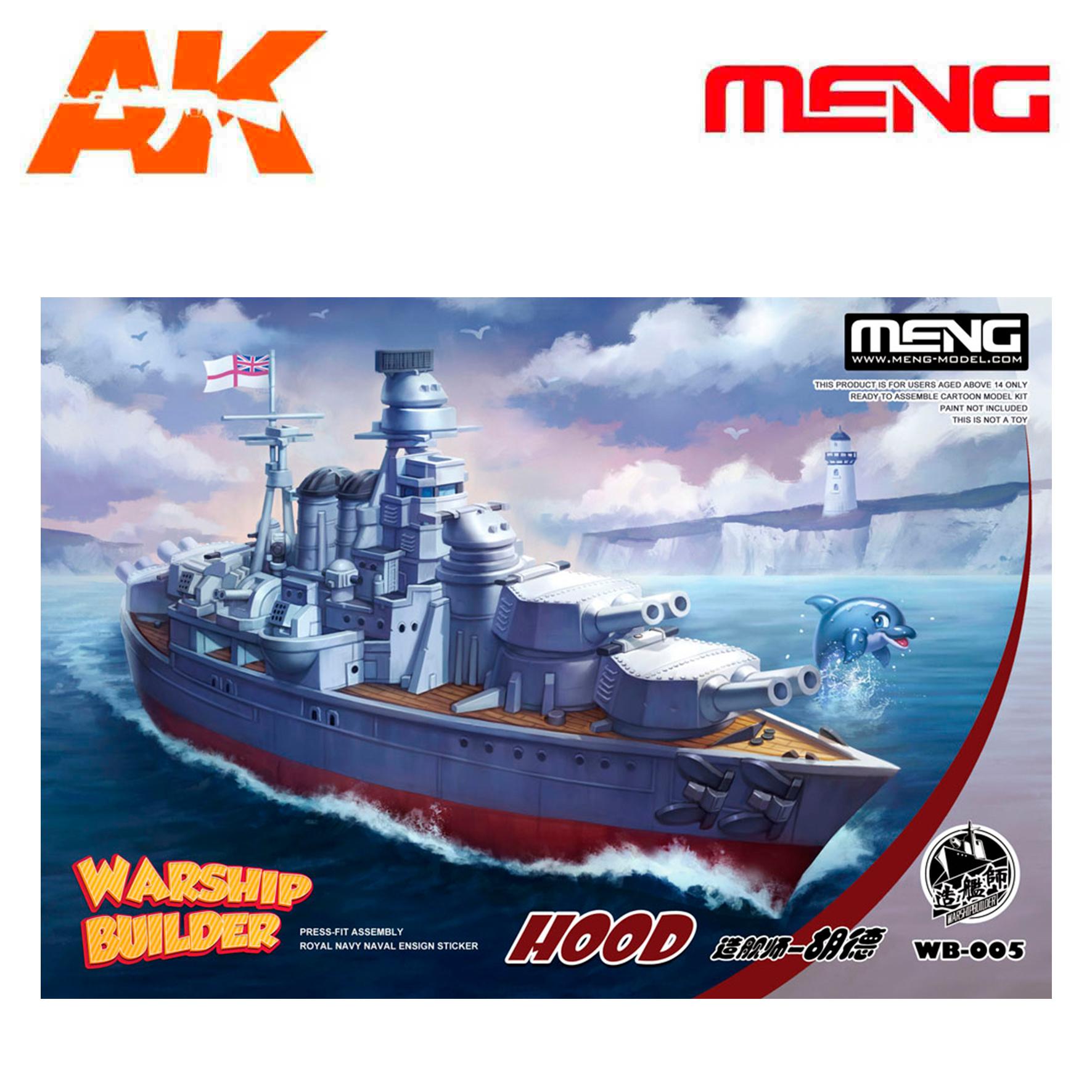 Meng Models Warship Builder Hood - Cartoon Model - Meng Models - MM WB-005