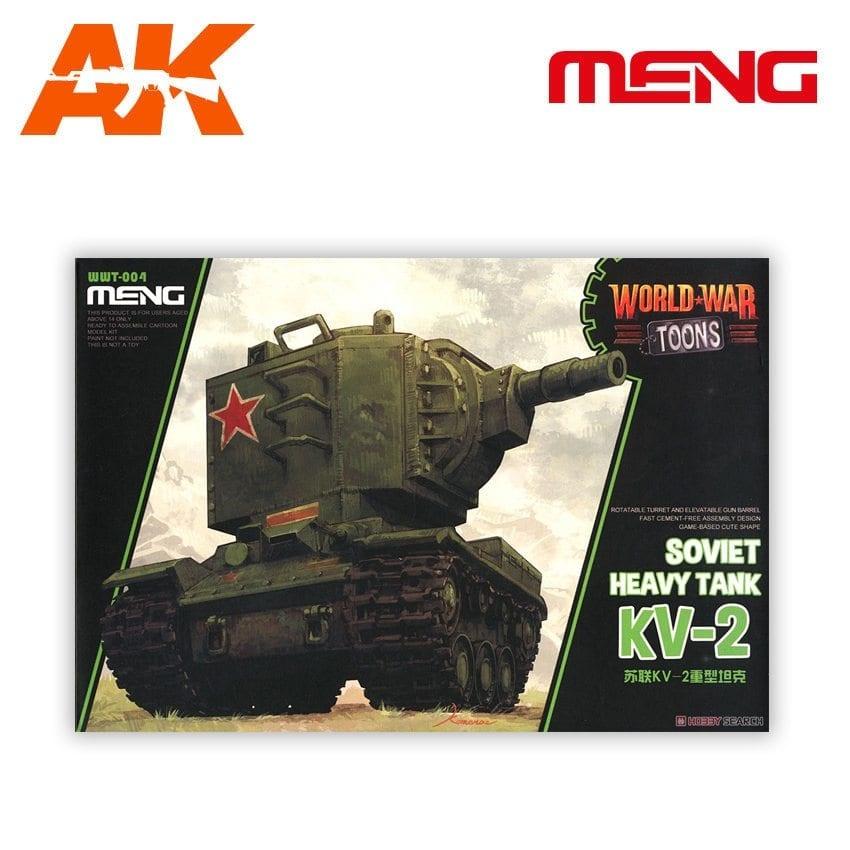 Meng Models KV-2 - Cartoon Model - Meng Models - MM WWP-004