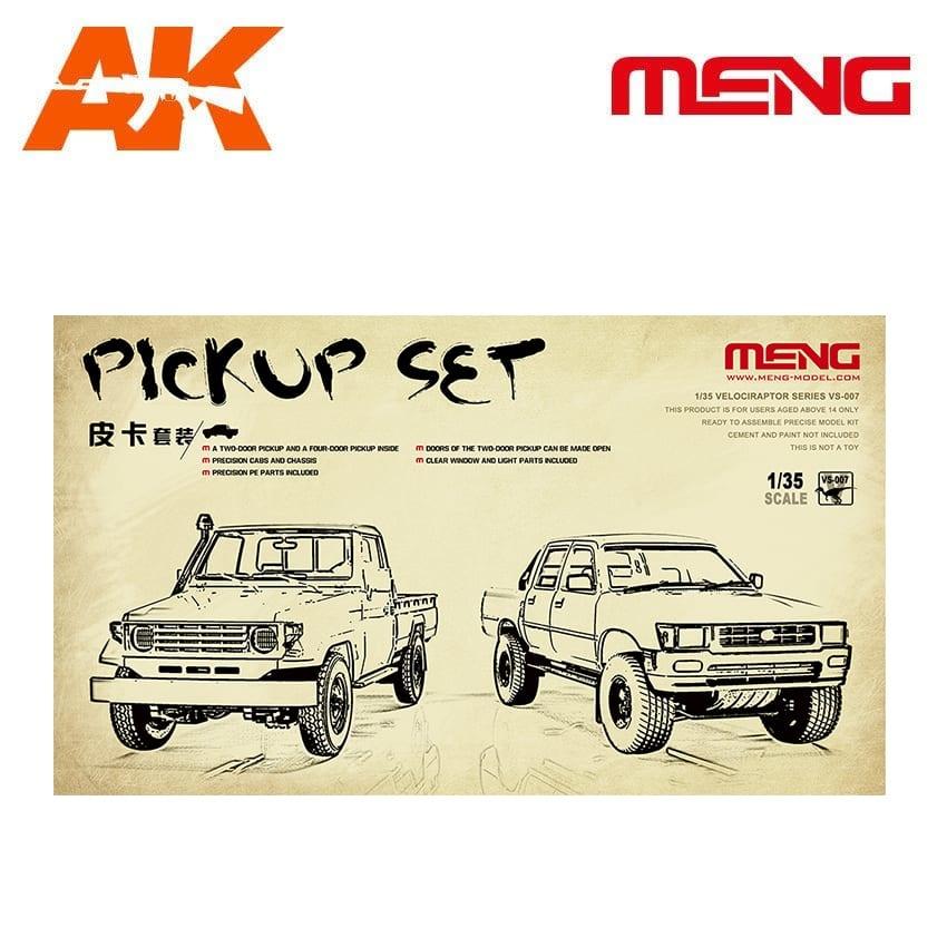 Meng Models Pickup Set - Scale 1/35 - Meng Models - MM VS-007