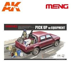 Pick Up W/Equipment - Scale 1/35 - Meng Models - MM VS-002