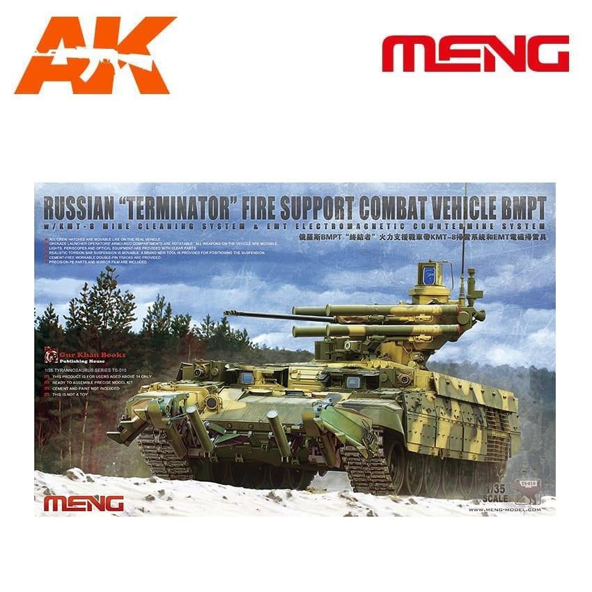 Meng Models Russian Main Battle Tank T-72B3 - Scale 1/35 - Meng Models - MM TS-010