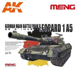 German Main Battle Tank Leopard 1 A5 - Scale 1/35 - Meng Models - MM TS-015