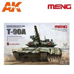Russian Main Battle Tank T-90A - Scale 1/35 - Meng Models - MM TS-006