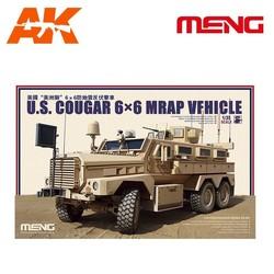 U.S. Cougar 6×6 MRAP Vehicle - Scale 1/35 - Meng Models - MM SS-005