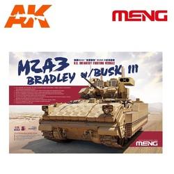 U.S. Infantry Fighting Vehicle M2A3 Bradley w/BUSK III - Scale 1/35 - Meng Models - MM SS-004