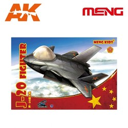 J-20 Fighter - Cartoon Model- Meng Models - MM Mplane-005
