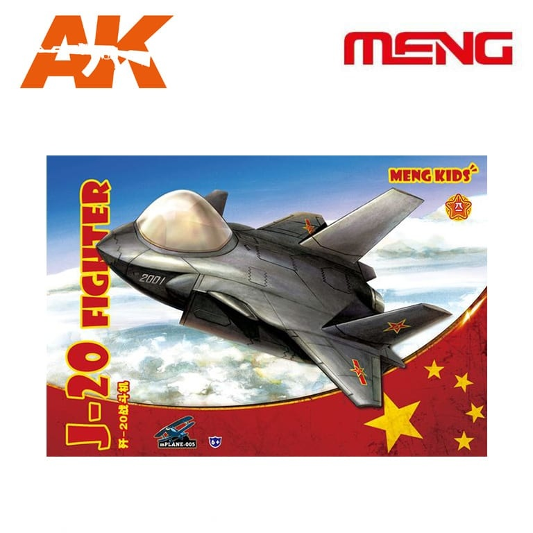 Meng Models J-20 Fighter - Cartoon Model- Meng Models - MM Mplane-005