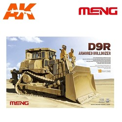 D9R Armored Bulldozer - Scale 1/35 - Meng Models - MM SS-002