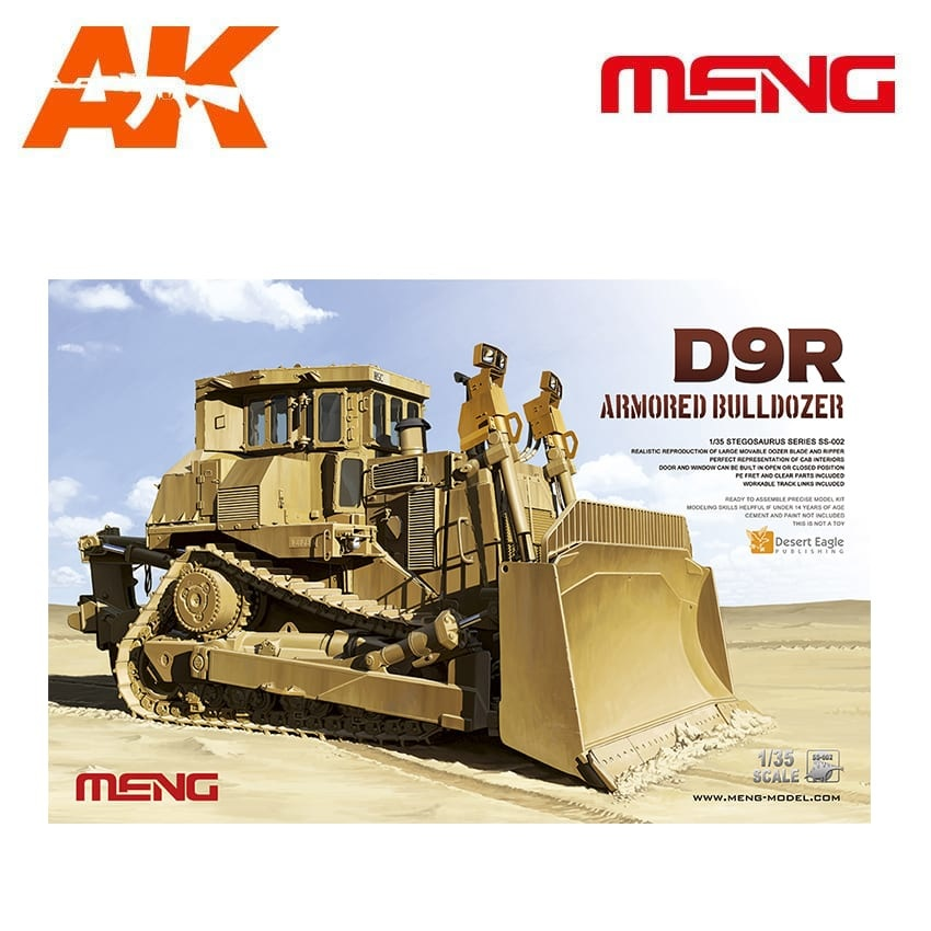 Meng Models D9R Armored Bulldozer - Scale 1/35 - Meng Models - MM SS-002