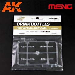 Drink Bottles for Vehicle/Diorama(4types) - Scale 1/35 - Meng Models - MM SPS-002