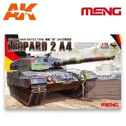 German Main Battle Tank Leopard 2 A4 - Scale 1/35 - Meng Models - MM TS-016