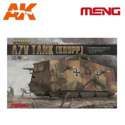 German A7V Tank(Krupp) - Scale 1/35 - Meng Models - MM TS-017